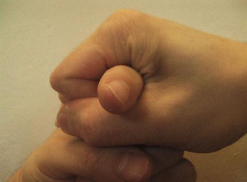 poop hand sign