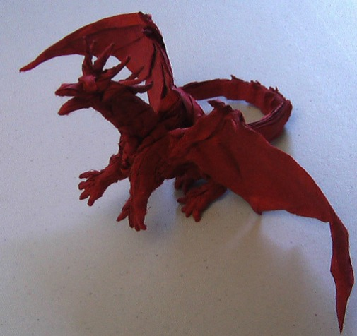 How To Make an Easy Origami Dragon - YouTube | 476x505