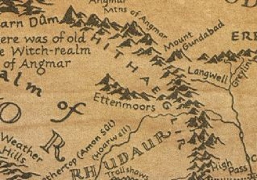 Middle Earth Monday 40 The Ettenmoors What is Best in Life – Best Middle Earth Map