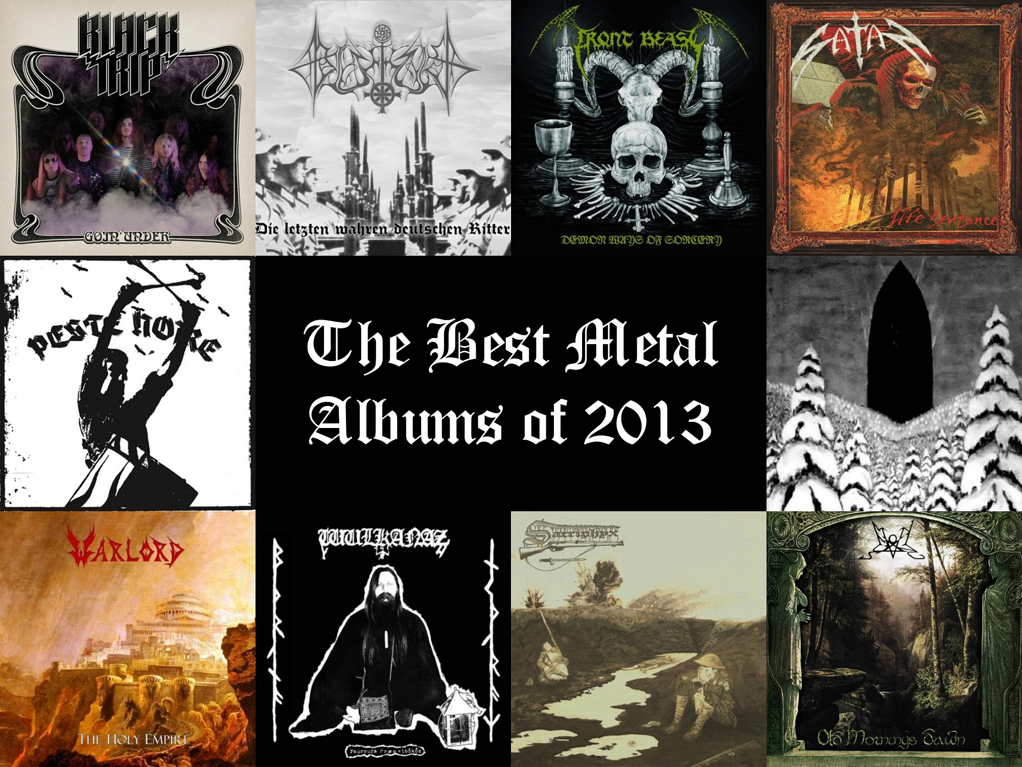 Best Metal Albums Of 2013 What Is Best In Life