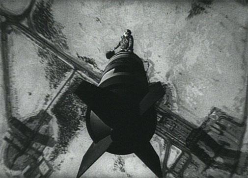 Dr Strangelove bomb ride