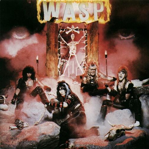 W.A.S.P. self titled original cover