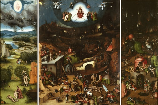 Bosch - Last Judgement Small