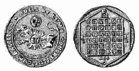 666 magic square coin
