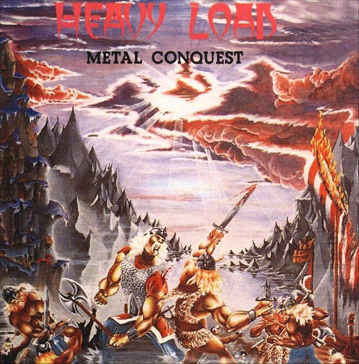 Heavy Load metal conquest original cover