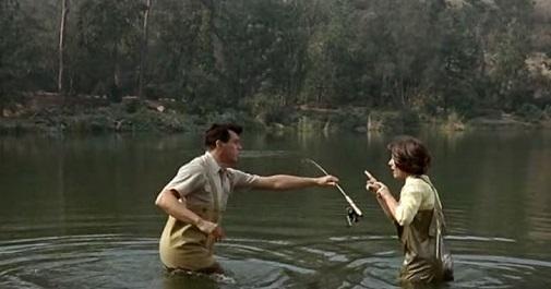 Man's Favorite sport fishing